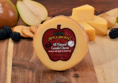 Apple Smoked All Natural Gouda