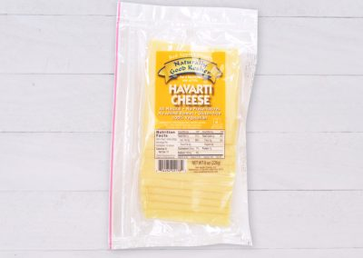 Sliced Havarti Cheese